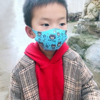 Kids Mask For Flu Anti-Haze Anti-Dust Comfortable Mouth Face Mask For Girl And Boy Face Masks Random Color  TQ