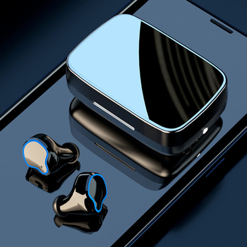 TWS M9 True Wireless Bluetooth Hands-free Hi-Fi Music Headphones 3D Touch Control Sports Waterproof For Phone Huawei Xiaomi image