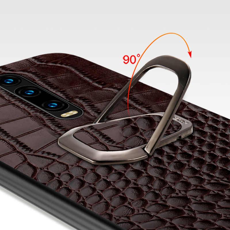 Da Thật Chính Hãng Da Ốp Lưng Điện Thoại Xio Mi Mi 9 9 T Pro Lite 8 A3 A2 Note 10 Chân Đế Chân Đế bao Da Dành Cho Đỏ Mi Note 8 Pro Note 8T 7 5