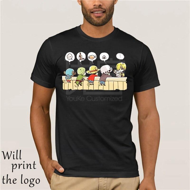 Divertente One Piece Cartoon T Shirt Rufy Roronoa Zoro Sanji Tony Chopper Sveglio Anime Uomo T Shirt 100% Cotone Ragazzo O-Neck