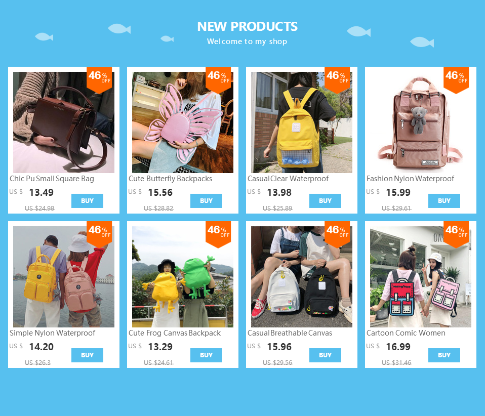 H759e69990e234b1fb06a44f087907c39v Fashion Nylon Waterproof Backpack Women Large Capacity Schoolbags Casual Solid Color Travel Laptop Backpack Teen Girls Bookbags