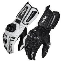 Furygan luvas de couro genuíno para motocicleta, equipamento de proteção para ciclismo, motocross 2019