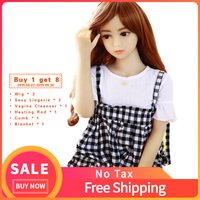 BK01 Realistic Mini Tpe Real 100Cm Sized Flat Chest Big Ass Silicone Sex Doll For Men Man