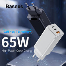 Baseus GaN PD 3.0 Fast USB Charger For iPhone 11 Pro Max Support AFC FCP SCP QC 3.0 For Samsung S10 Plus Huawei P30 Pro Xiaomi(China)