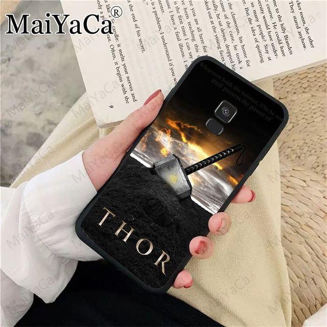 Loki Thor Custom Photo Soft Phone Case For samsung Galaxy A10 A8 A6 A10s A9 A30 A50 A70 COVER Mobile Cases