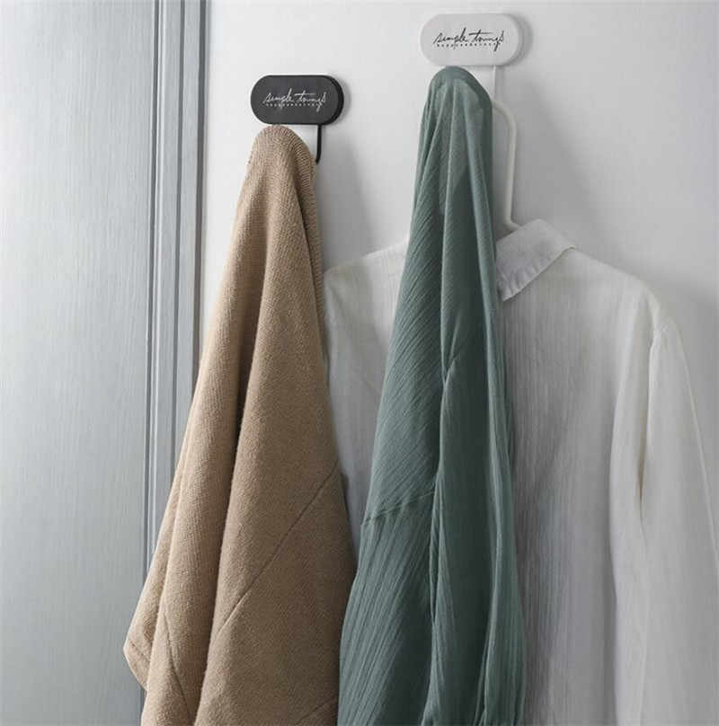 Sevimli kendinden yapışkanlı duvar kapı kanca elbise anahtar raf kanca havlu askısı ev duvar dekoru