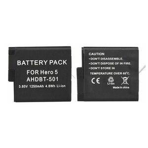 Image 2 - 2 pçs herói de decodificação completa 8 7 herói preto 6 5 bateria + lcd carregador duplo para gopro hero 5 6 7 preto ir pro 8 acessórios de carregamento