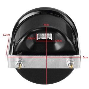 "Image 5 - 2 ""52Mm 12V 0 20 Bar Blauwe Led Luchtdrukmeter Bar Dual Digitale Display Lucht rit Meter + Sensor"