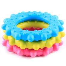 Жевательная игрушка для собак жевательные резиновые кольца щенков