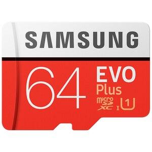 Image 5 - סמסונג זיכרון כרטיס EVO + EVO בתוספת מיקרו SD 256GB 128G 64GB 32GB Class10 MicroSD כרטיס C10 UHS I Trans פלאש MicroSD כרטיס