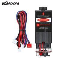 KKMOON 500mw/ 2500mw/5500mw profesjonalny niebieski Laser głowicy moduł regulowany z możliwością ustawiania ostrości dla CNC Router / DIY maszyna do grawerowania