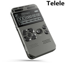 Voice Activated Digital Voice Recorder Mp3 player 32GB Music  Player  Card One-button Record Noise Reduction Dictaphone  V35