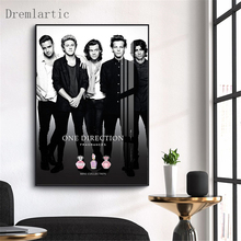 One Direction D18 Canvas Art Paintings For Living Room Bedroom Posters And Prints Wall Home Decor KC
