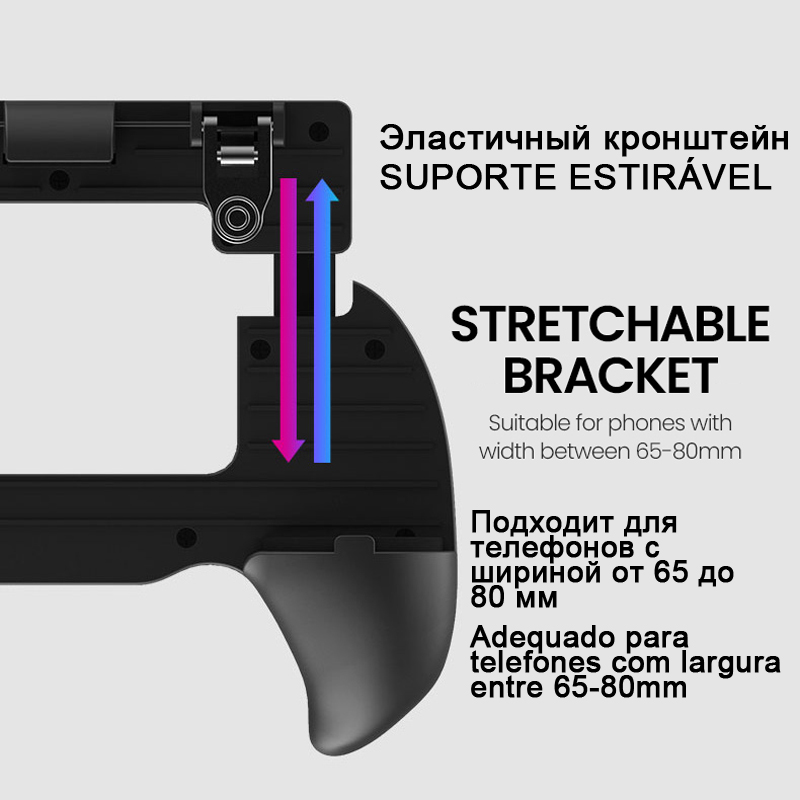 Gaming Trigger Joystick For Android iPhone Cell Phone Pubg Mobile Cellphone Controller Gamepad Game Pad Pabg Joypad Smartphone