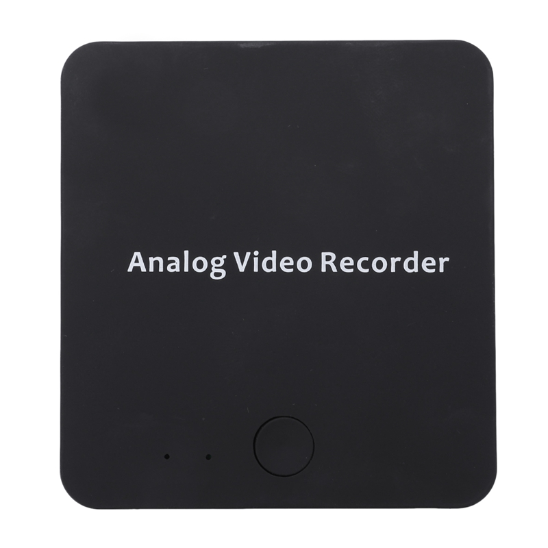 272 Vhs To Digital Converter Av <font><b>Video</b></font> Recorder Device For Hi8 Vcr Dvd Dvr Camcorder Tape Media Analog File Digitizer image