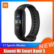 Xiaomi – Bracelet connecté Mi Band 5, Bluetooth 5.0, écran couleur AMOLED 1.1