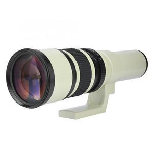 Image 3 - Profesjonalne 500mm F6.3 teleobiektyw obiektyw stały ręczne ustawianie ostrości optycznego wielokrotnego powlekania kamera obiektyw do Nikon Canon DSLR lustrzanki
