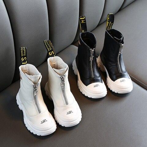 couro genuino martin botas anti chute macio inferior