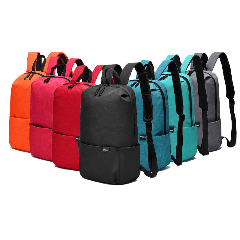 HOW.R.U MI 10L Backpack Men Women Mini Ultralight Backpack Small Waterproof Nylon Bag Unisex Zipper Outdoor Travel Backpacks