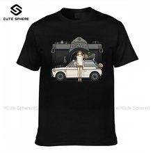 Comics T-shirt Mode Baumwolle Kurzen Ärmeln T Shirt Druck Klassische T-Shirt Mann Übergroßen