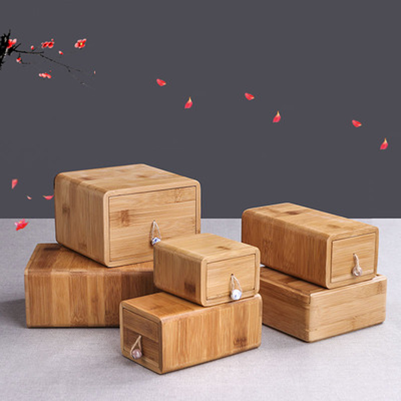 Wooden Pet Cremation Urn For Ashes, Pet Ashes Box For Dogs Memorial Ashes Keepsake With Pendant,