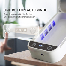 Wireless-Charger Sterilizer for Masks UV Disinfection-Box Mobile-Phone Multifunctional