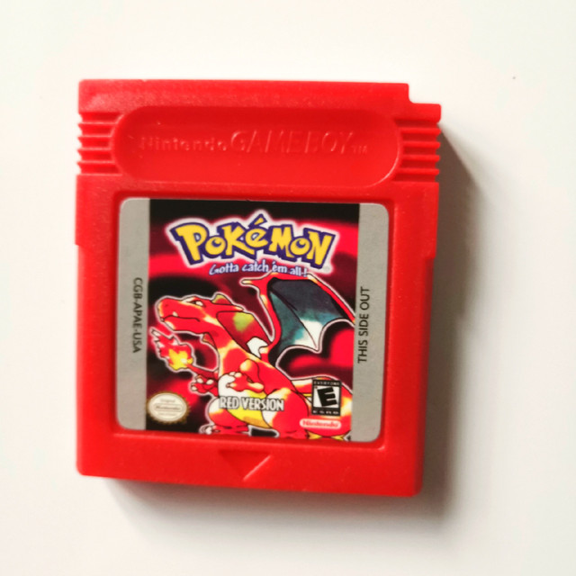Pokemon GBC Games  Series 16 Bit Video Game Cartridge Console Card Classic Game Collect Colorful Version English Language 4