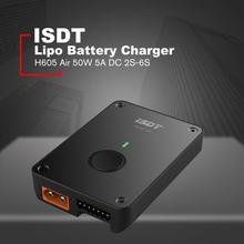 ISDT H605 Ar 50W 5A DC 2 S-Operação 6S Carregador de Bateria Lipo Bluetooth Inteligente Com APP mini Bluetooth Android Carregador(China)