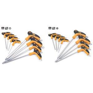 Т Бар Ручка шестигранный гаечный ключ/Безопасность Torx ручные инструменты CRV