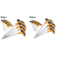 Llave de mango en T  llave hexagonal  llave Torx de seguridad  herramientas manuales CRV