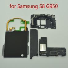 NFC bezprzewodowy Panel ładowania anteny głośnik do Samsung Galaxy S8 G950 G950F G950FD G950T oryginalne części do naprawy telefonu