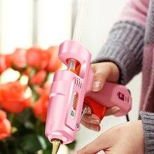 Glue-Gun-Set Power-Tools Professional DTBD Mini Bag with Hot Sticks And for DIY Hot-Melt