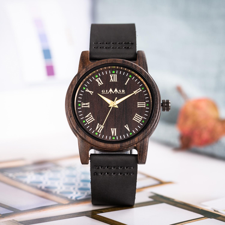 Relógio de Madeira De Madeira de Sândalo
