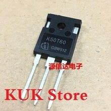 Original 100% NEW K50T60 IKW50N60T 600V 50A IGBT TO-247 50PCS/LOT