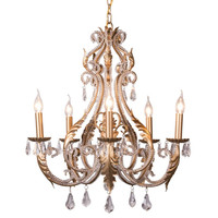New Lustre Vintage Chandelier Crystal Lighting For Living Dining Room Bedroom Chandeliers Loft Retro Home Decor Lustres Cristal