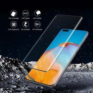 Image 4 - Huawei P40 Pro verre trempé P40 Pro verre protecteur décran Nillkin 3D couverture complète sécurité verre de protection pour Huawei P40 Pro