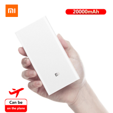 20000mAh Original Xiaomi Power Bank Portable Charging PowerBank 2C Universal Dual USB QC3.0 Fast batterie externe movil
