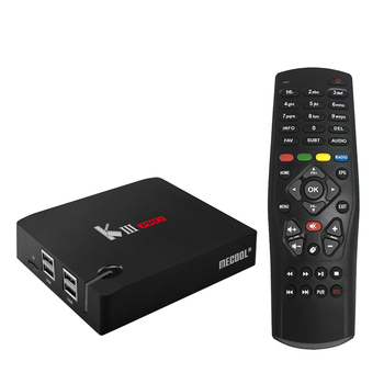 цена на MECOOL KIII PRO Android TV BOX Android 7.1 Amlogic S912 Octa-core 3GB / 16GB 4K H.265 VP9 WiFi 1000M LAN BT 4.0 Media Player