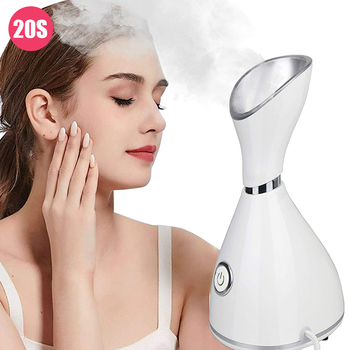 Nano Ionic Face Steamer Professional Large-capacity Water Tank 70ml Facial Vaporizer Portable Mist Sprayer Steam Machine