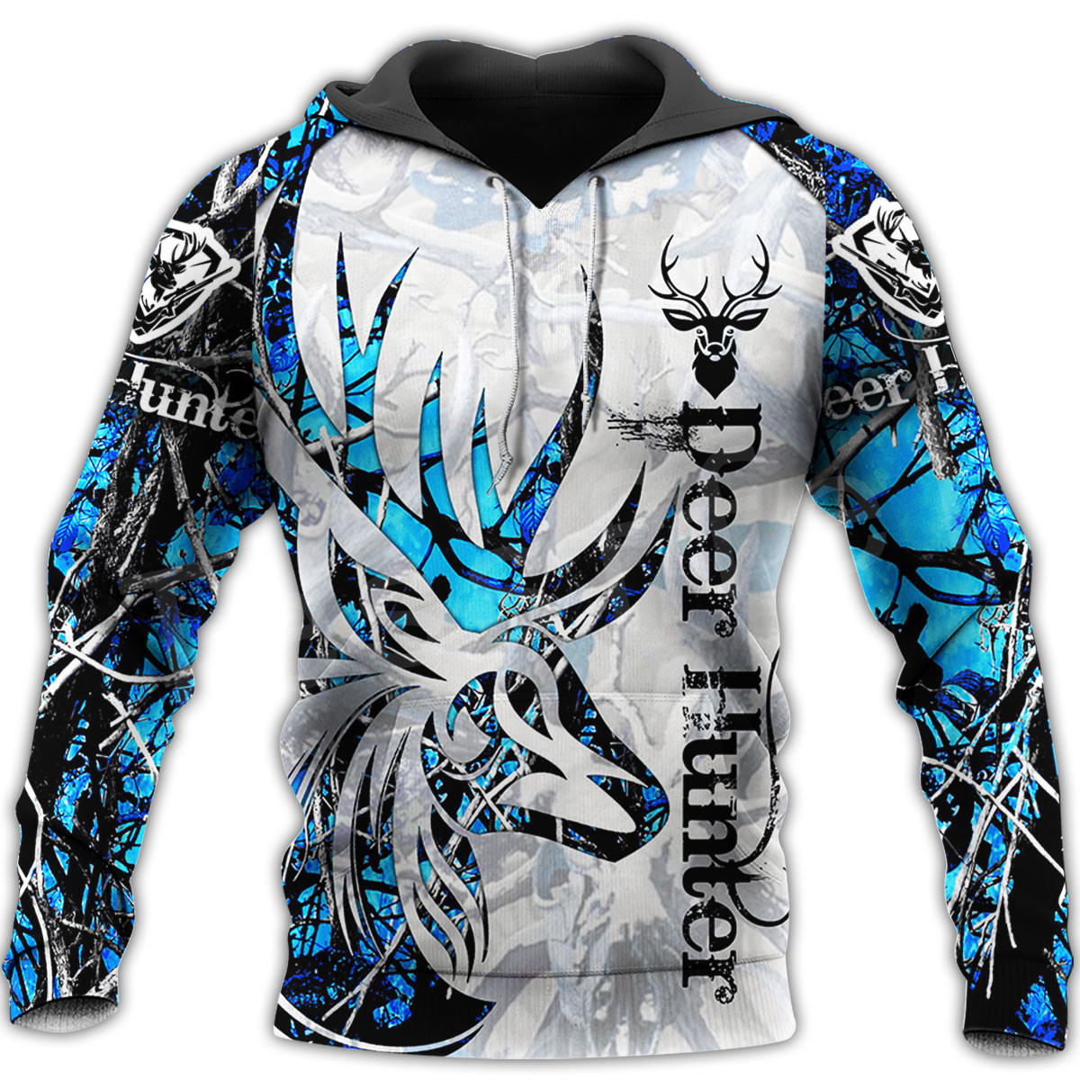 Tessffel Animal Bow Deer Hunter Hunting Camo Tracksuit Pullover NewFashion Unisex 3DPrint Sweatshirts/Hoodies/zipper/Jacket S-12
