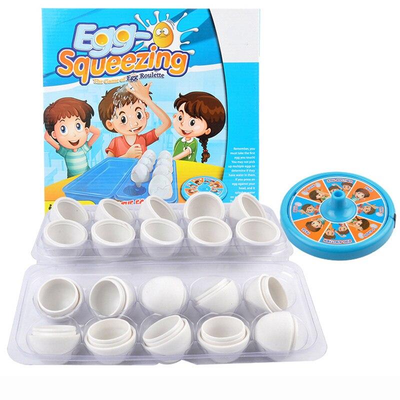 Oeuf serrant jeu de société éducation logique stimuler jeux haute qualité plastique éducation jeu