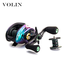 Volin 2020 BFS Baitcasting Fishing Reel 2 Spools Magnetic Brake System Max Drag 6KG 11 BB 8.0:1 High Speed Saltwater Freshwater