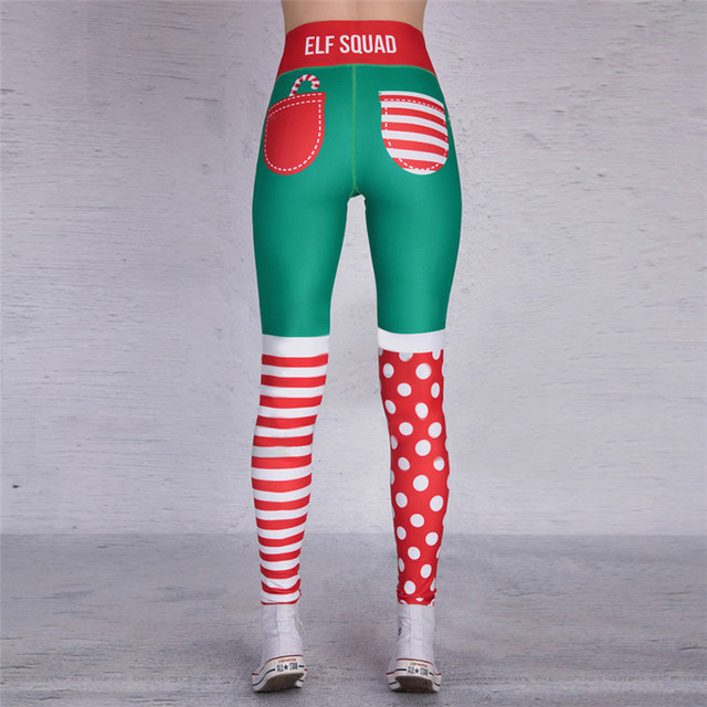 Christmas Printing Legging 2