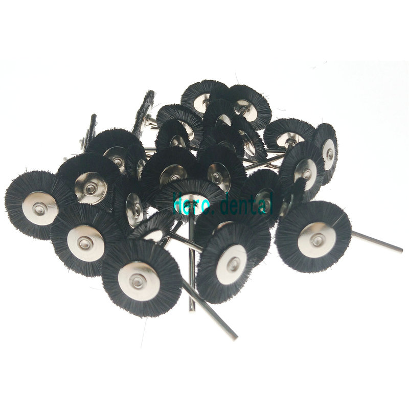 30pcs Dental Lab Pristle Brush Polisher Polishing Wheel 2.35mm