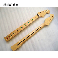 disado 21 22 24 Frets maple Electric Guitar Neck maple fretboard glossy paint wood color guitar accessories parts