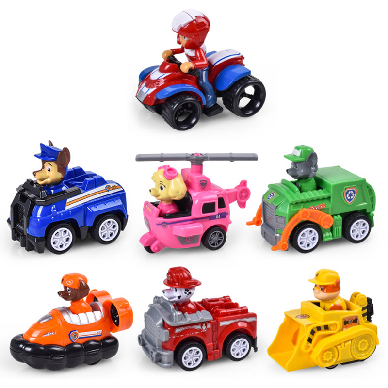 Paw Patrol Dog Tracker Everest Puppy Patrol Car Patrulla Canina Toys Action Figures Model Chase Marshall Vehicle Car Kids Toy
