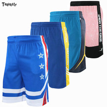 Basketball sports shorts breathable quick-drying loose Print Fitness running basketball New Arrival shorts with pocket