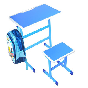 Desk and Chair Training Table and Chairs Remedial Class Factory Direct Single Double Primary School School Home|  -
