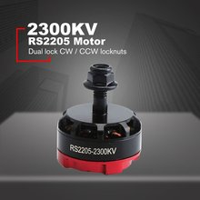 цена на RS2205 2300KV 2205 CW/CCW Brushless Motor 3-4S For FPV RC Racing Drone Multicopter Dual Lock CW / CCW Locknuts