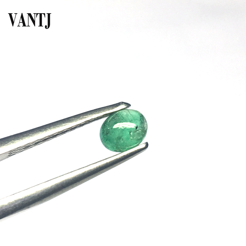 Natural Emerald Loose Gemstone 1PCS Beryl Bare Stone Concave Cut Customizable Diy for Silver Gold Women Jewelry Random Delivery